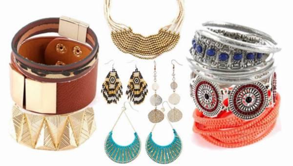 Biżuteria Camaieu 2015 w stylu boho