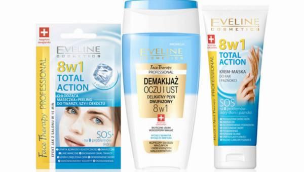 Nowości w 8 w 1 Total Action od Eveline Cosmetics