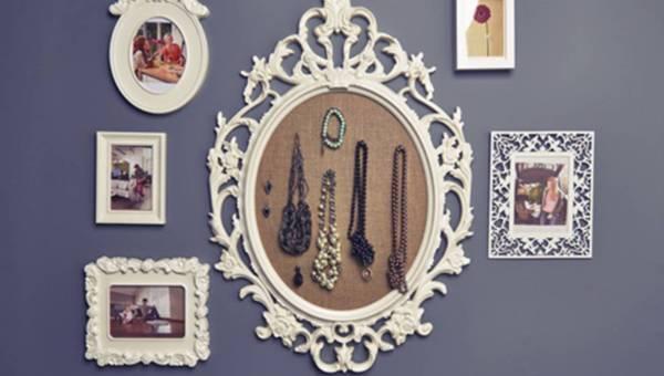 DIY: Ramka na biżuterię