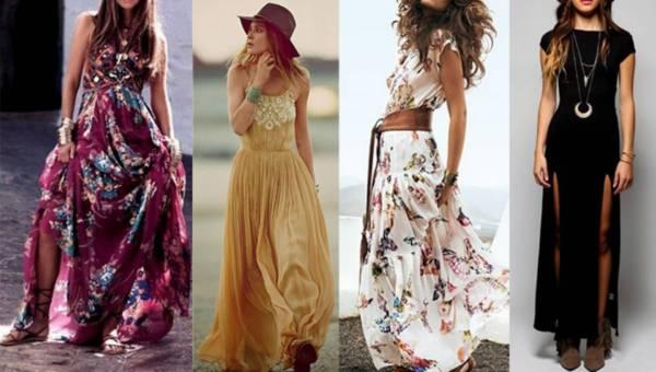 Stylizacje: Jak nosić sukienki maxi ?