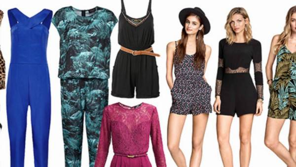 Shoppingowy przegląd: Letnie kombinezony 2015