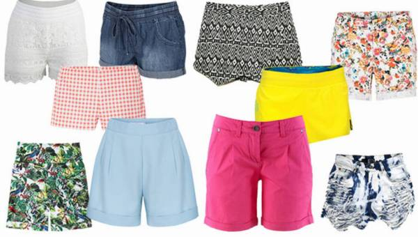 Shoppingowy przegląd: Krótkie spodenki na lato 2015