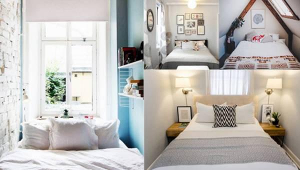 Inspiracje do domu: Mała sypialnia