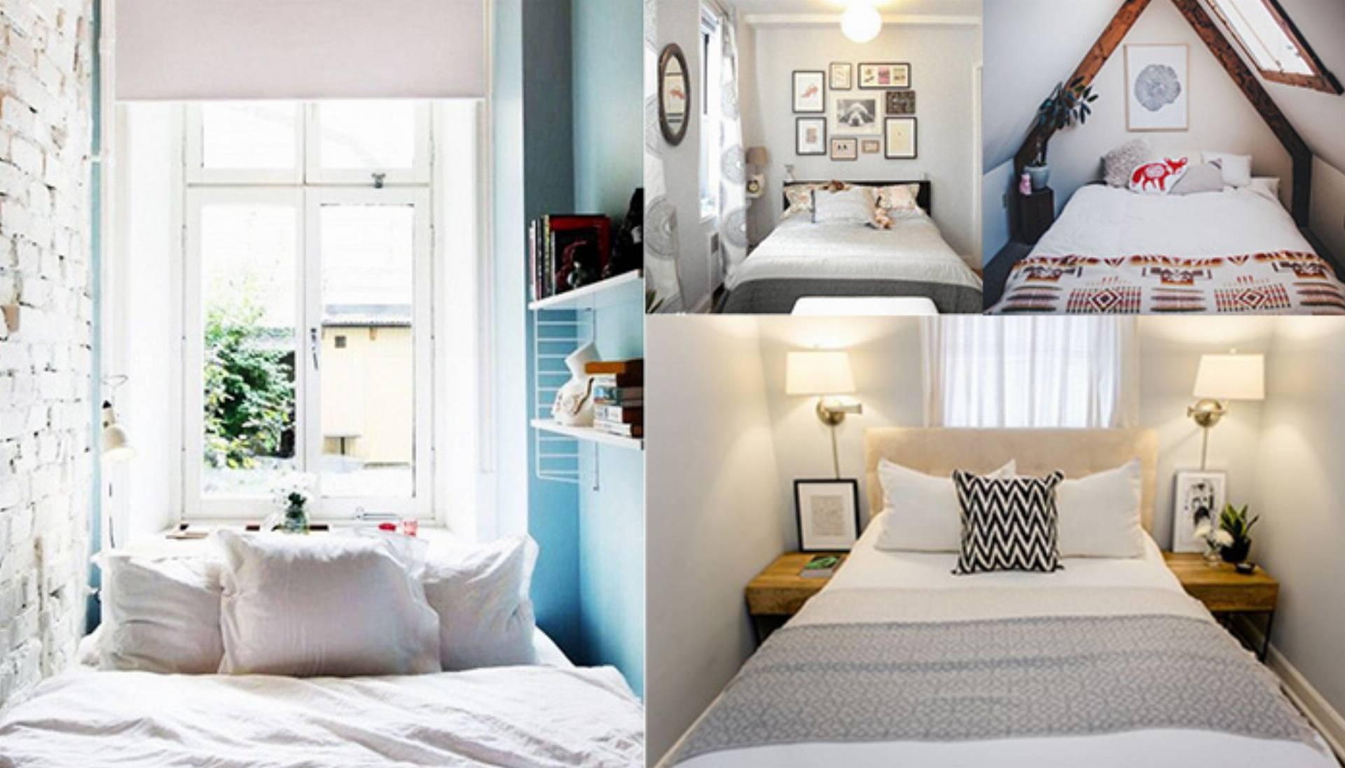 Inspiracje Do Domu Mała Sypialnia Kobietamagpl