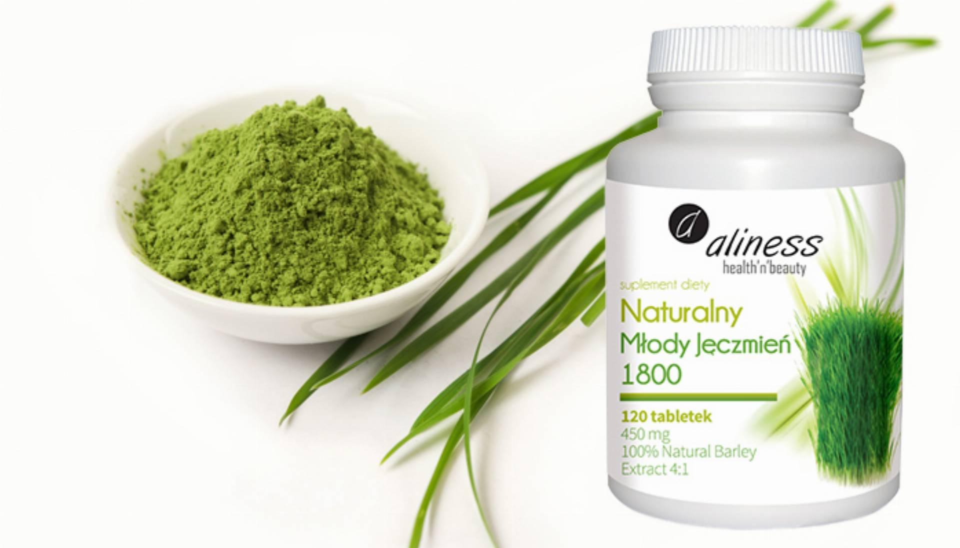 serotonina zielony jęczmień