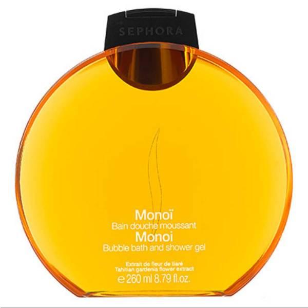 e005c36fac42a7 Żel do kąpieli i pod prysznic o zapachu Monoi marki Sephora. Ten zapach to  nuty zapachowe skórki pomarańczowej, kwiatu plumerii, kokosa i monoi, które  ...