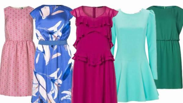 Sukienki koktajlowe 2015 na przyjęcie komunijne
