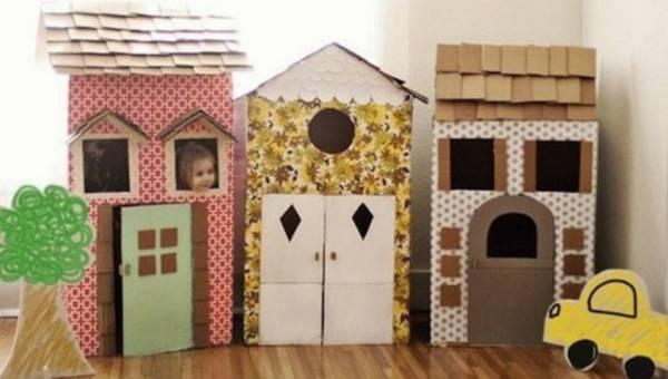 DIY: Zabawki z kartonu dla dzieci