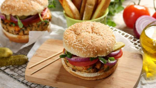 """Grillowane hamburgery z indyka """"Słoneczna Samba"""""""