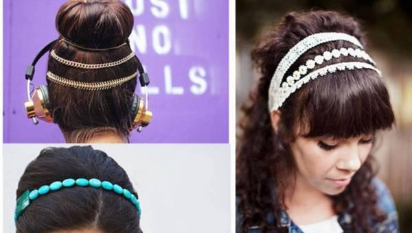 DIY: Jak zrobić ozdoby do włosów