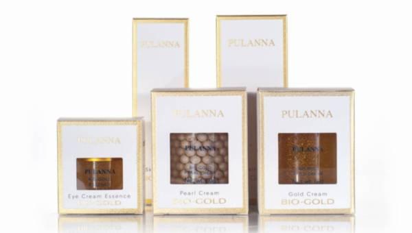 Złota seria kosmetyków Pulanna Bio Gold
