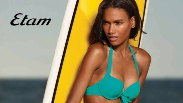 Etam – kolorowe stroje kąpielowe na lato 2015
