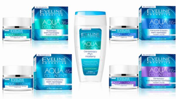 Seria Eveline Cosmetics AQUA COLLAGEN do cery 35-65+