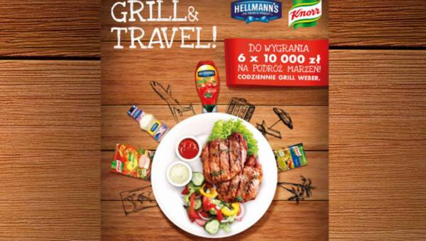 Grill & Travel – co 2 tygodnie można wygrać 10 000 zł a codziennie grill marki Weber