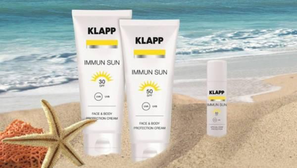 Ochrona przeciwsłoneczna od KLAPP IMUNN SUN