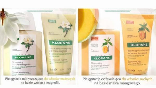 Kosmetyki KLORANE w wersji travel