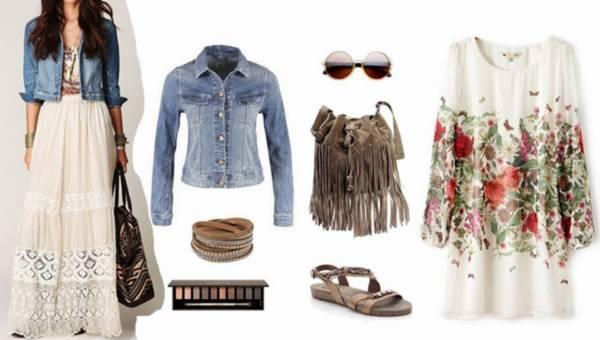 Moda na festiwale, moda na boho! – 4 stylizacje