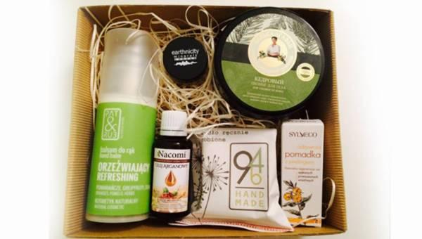 Naturalnie z pudełka – box z naturalnymi kosmetykami