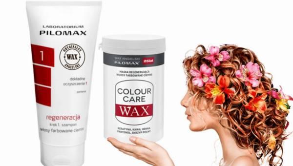 Pielęgnacja i regeneracja ciemnych farbowanych włosów od Pilomax
