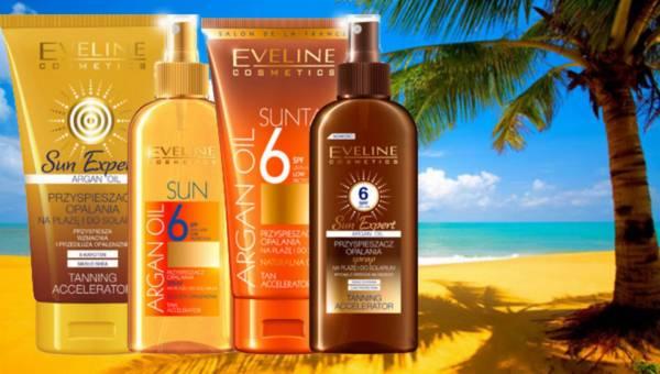 Przyśpieszacze opalania od Eveline Cosmetics