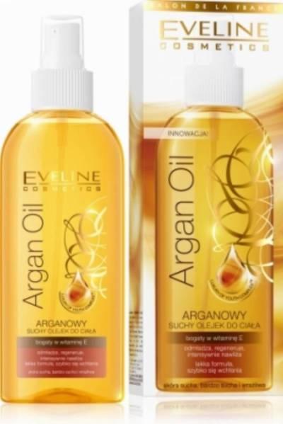 eveline argan oli -najlepsze olejki do pielęgnacji ciała