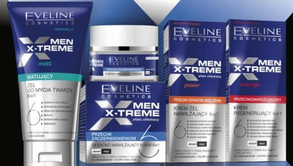 NOWOŚĆ: Seria Eveline Cosmetics MEN X-TREME