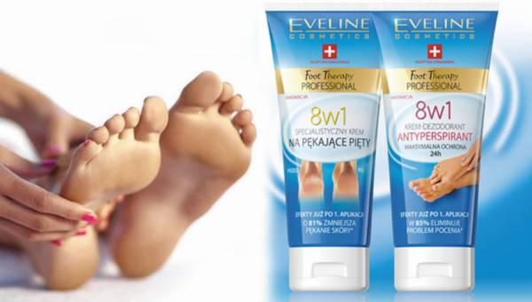 Zadbaj o stopy latem z Foot Therapy Professional od Eveline Cosmetics
