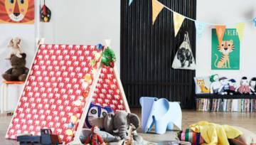 DIY – Jak zrobić namiot dla małych odkrywców na deszczową pogodę
