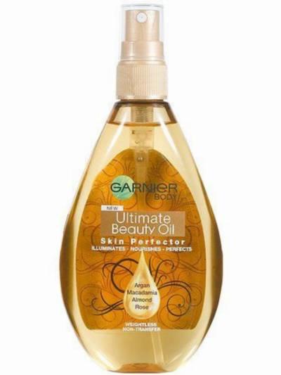 garnier - najlepsze olejki do pielęgnacji ciała