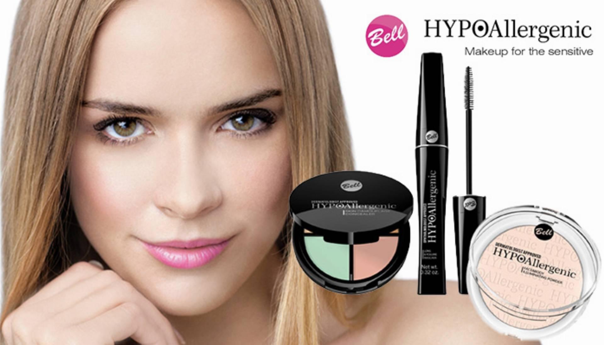 hipoalergiczne kosmetyki do makijażu Bell HYPOAllergenic log