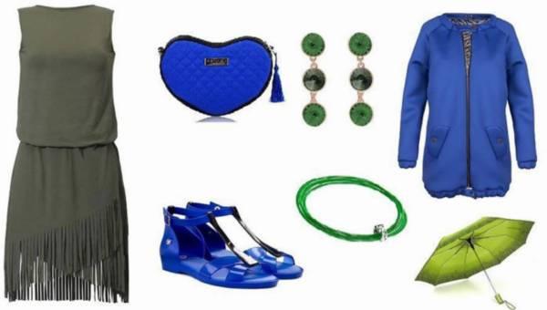 Łączymy kolory – Kobalt i zieleń w gotowych stylizacjach