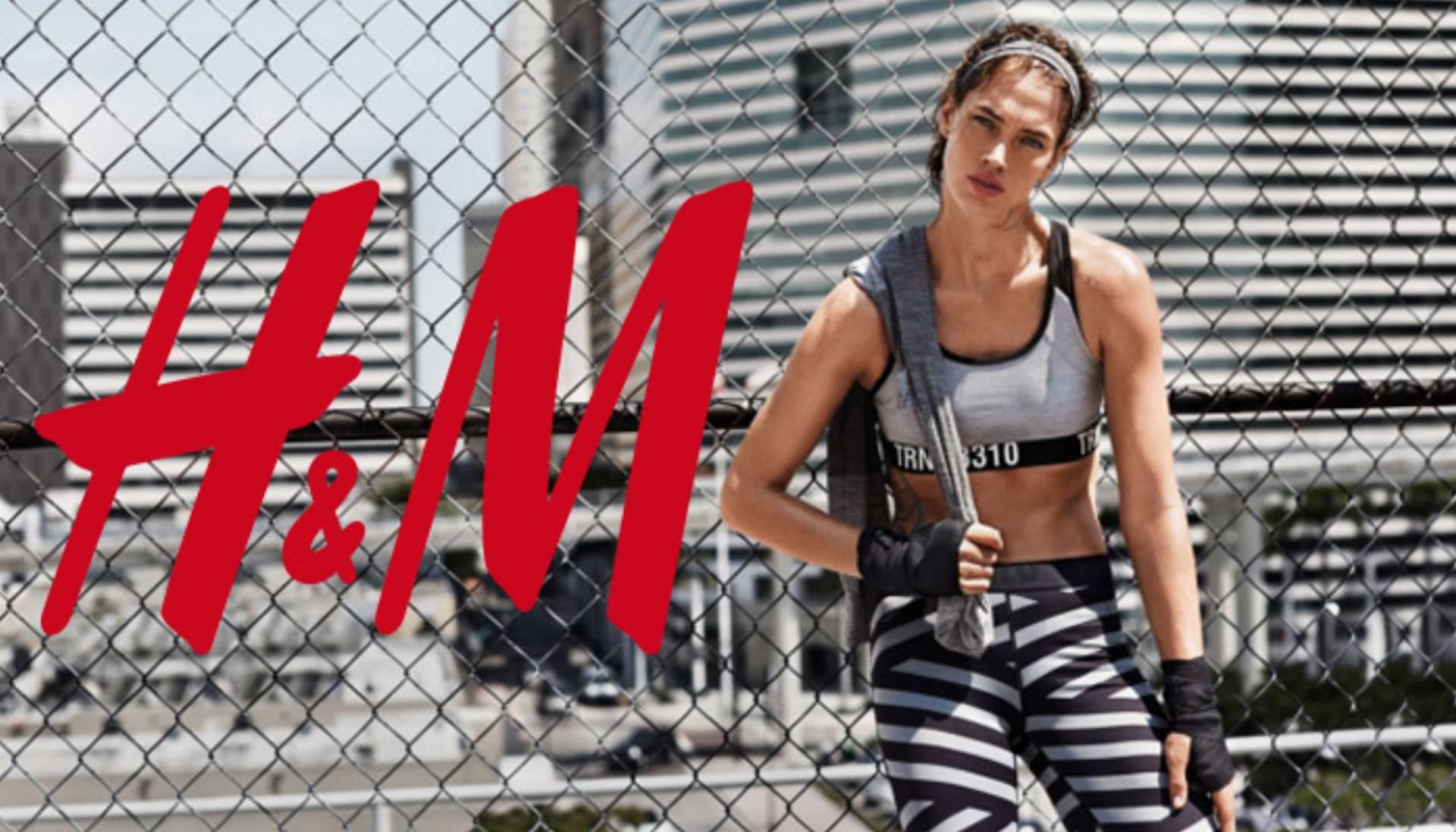 Moda sportowa w H&M na sezon jesień-zima 2015 log