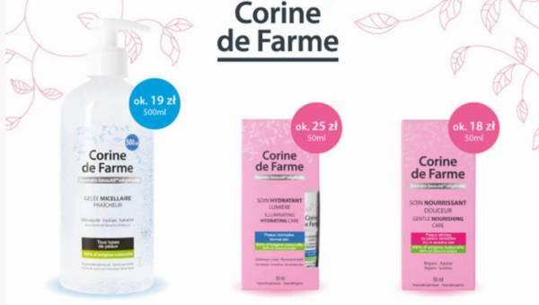 Nowe kosmetyki Corine de Farme na polskim rynku