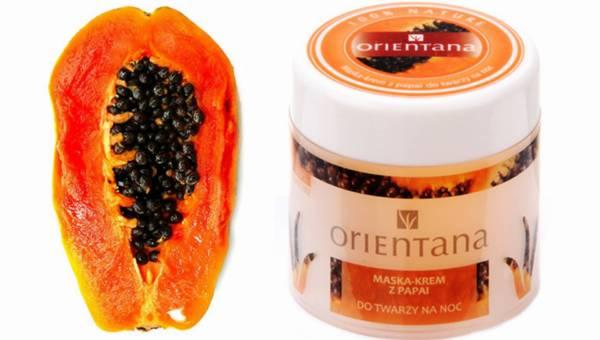 Orientana: Maska-krem z papai na przebarwienia