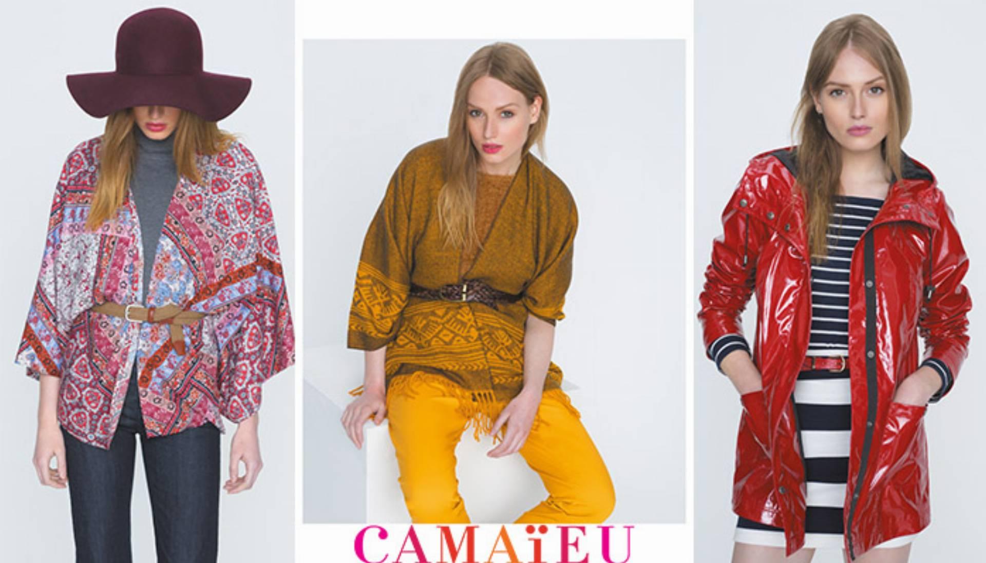f37589d645 Prezentacja kolekcji Camaieu na jesień 2015 - KobietaMag.pl