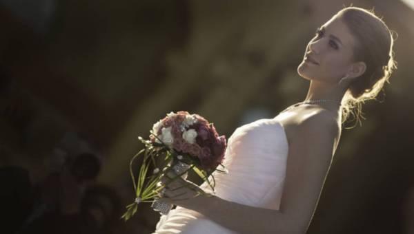 Świetlisty modny makijaż ślubny na lato 2015