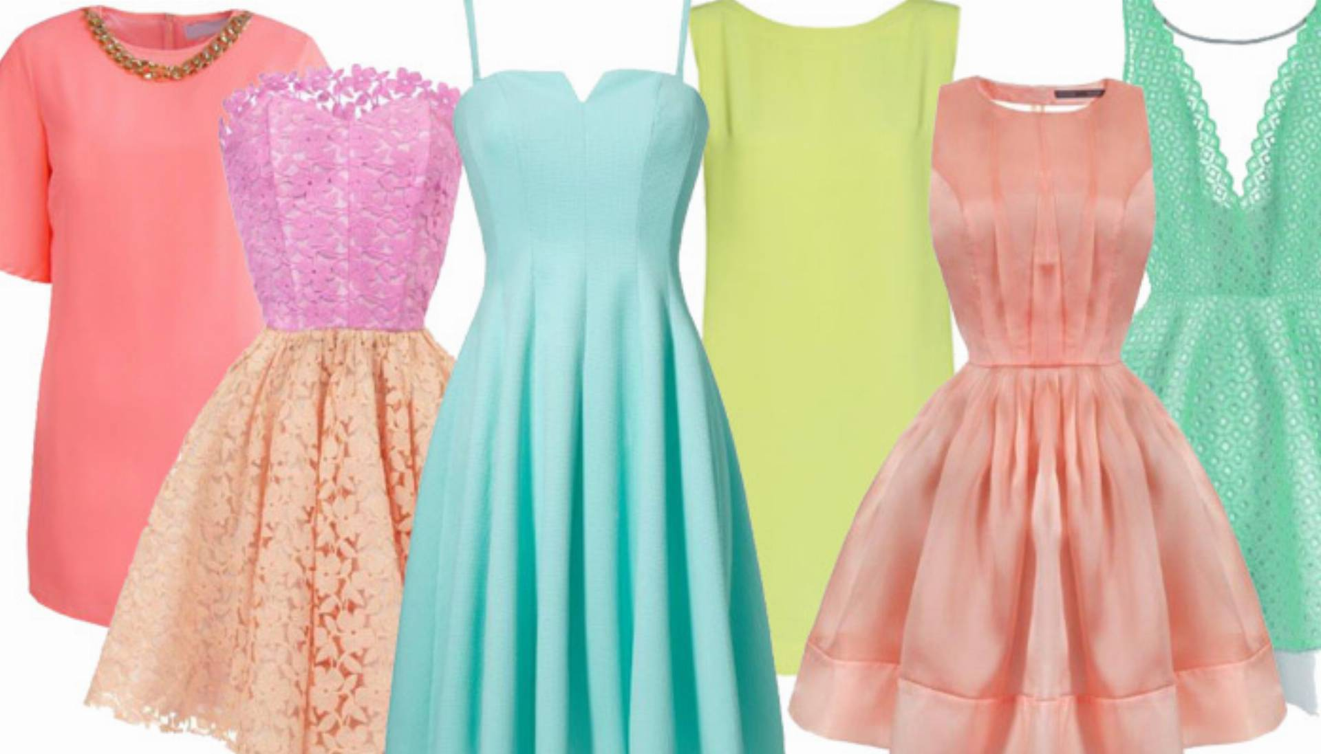 bf33e6d630 Sukienki na lato 2015 w kolorze pianek marshmallow - przegląd ...