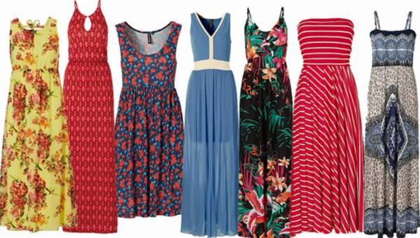 PRZEGLĄD: Zwiewne sukienki od bonprix na lato 2015