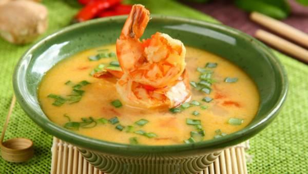 Przepis na: Tajska zupa krewetkowa