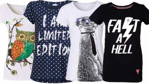 Przegląd: zabawne t-shirty z nadrukami