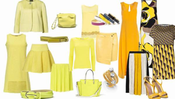 Żółty – kolor lata 2015. Przegląd żółtych ciuszków różnych marek