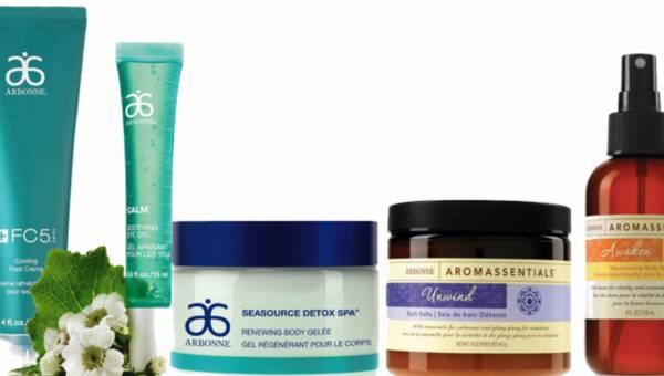 Chłodzimy i orzeźwiamy się kosmetykami – propozycja marki Arbonne