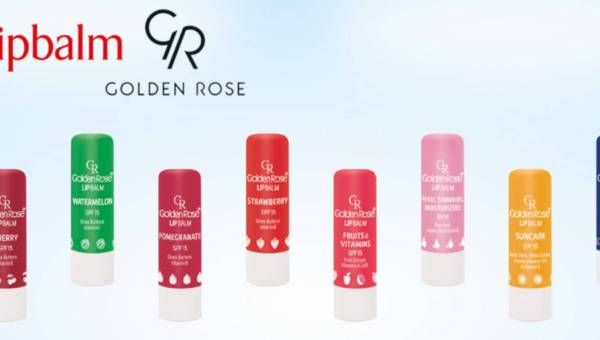 Golden Rose: LIPBALM – BALSAMY DO UST