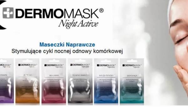 Maseczki w saszetkach na noc DERMOMASK Night Active od L'biotica