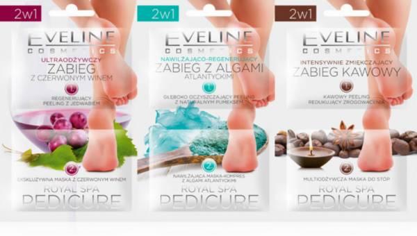 Pielęgnacja stóp z Eveline Cosmetics ROYAL SPA PEDICURE
