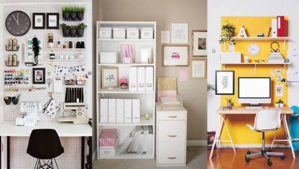 Inspiracje: Jak urządzić domowe biuro