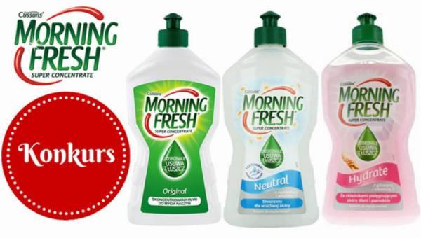 Konkurs: Wygraj zestaw Morning Fresh