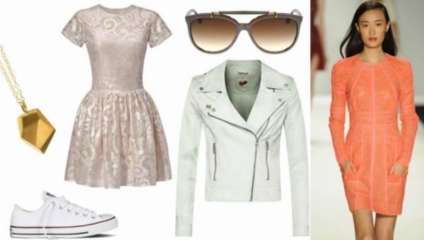 Koronkowe stylizacje – must have tego lata – od bielizny po sukienkę