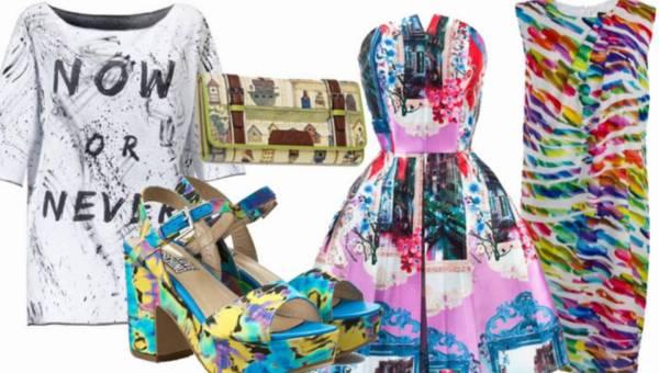 Malarskie nadruki na ubraniach – shoppingowy przegląd