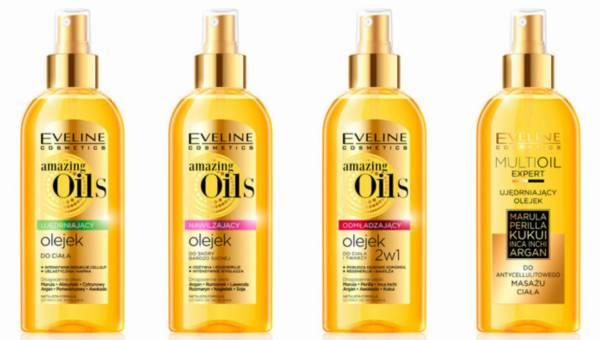 Olejki do ciała Eveline Cosmetics